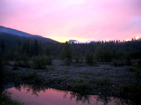 Beautiful Northwest Montana Scenery Photo